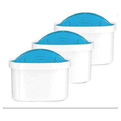 3 фильтрующих картриджа для воды UNIMAX для фильтров Dafi Unimax и Brita Maxtra